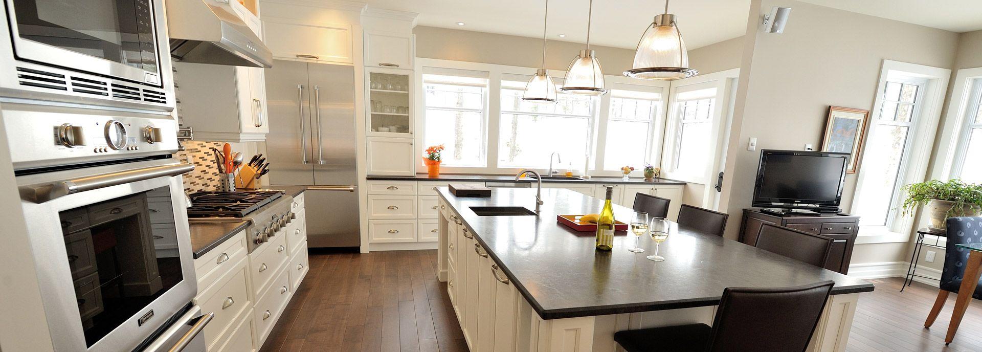La Bistro: Cuisine avec comptoir de granit | Ateliers Jacob | Dream ...