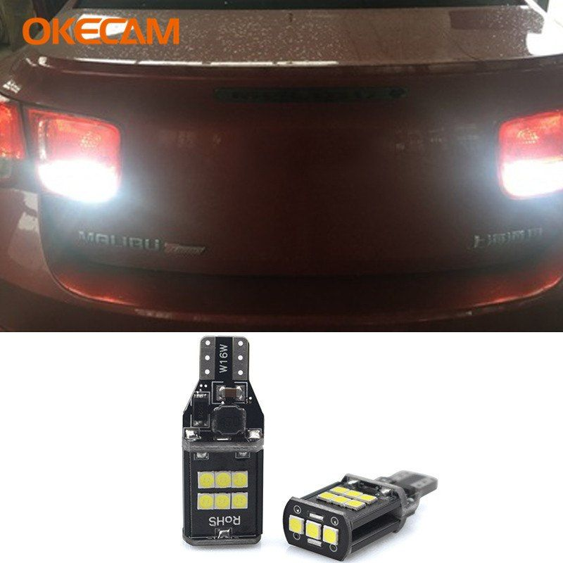 2x T15 W16w Canbus Car Reverse Lights For Chevrolet Cruze Captiva