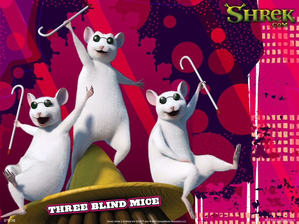 Images For Three Blind Mice Shrek Three Blind Mice Shrek Dreamworks Animation