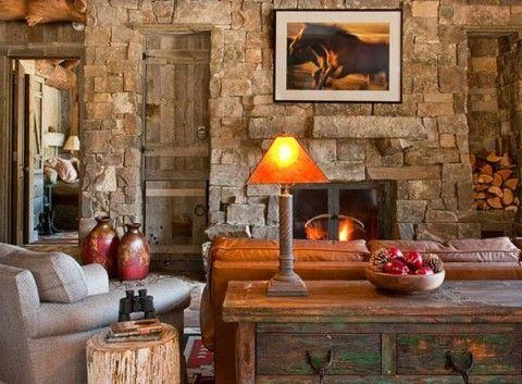 Decoraci n de casas r sticas ideas y trucos decoraci n for Decoracion hogar rustico