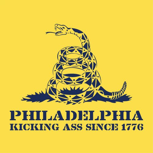 Dont Tread on Philly - Yellow ART.jpg (500×500)