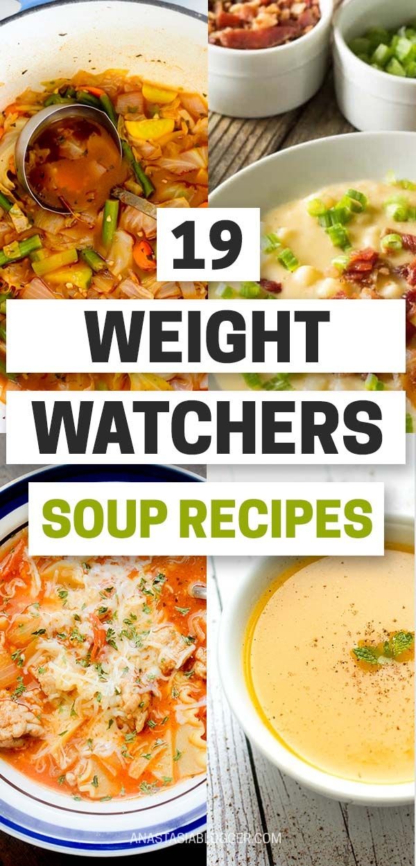 19 Weight Watchers Soup Recipes with Smartpoints – Easy WW Freestyle