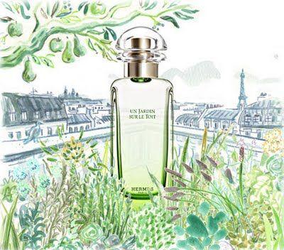 Hermes Un Jardin Sur Le Toit Hermes Parfum Parfum Duft