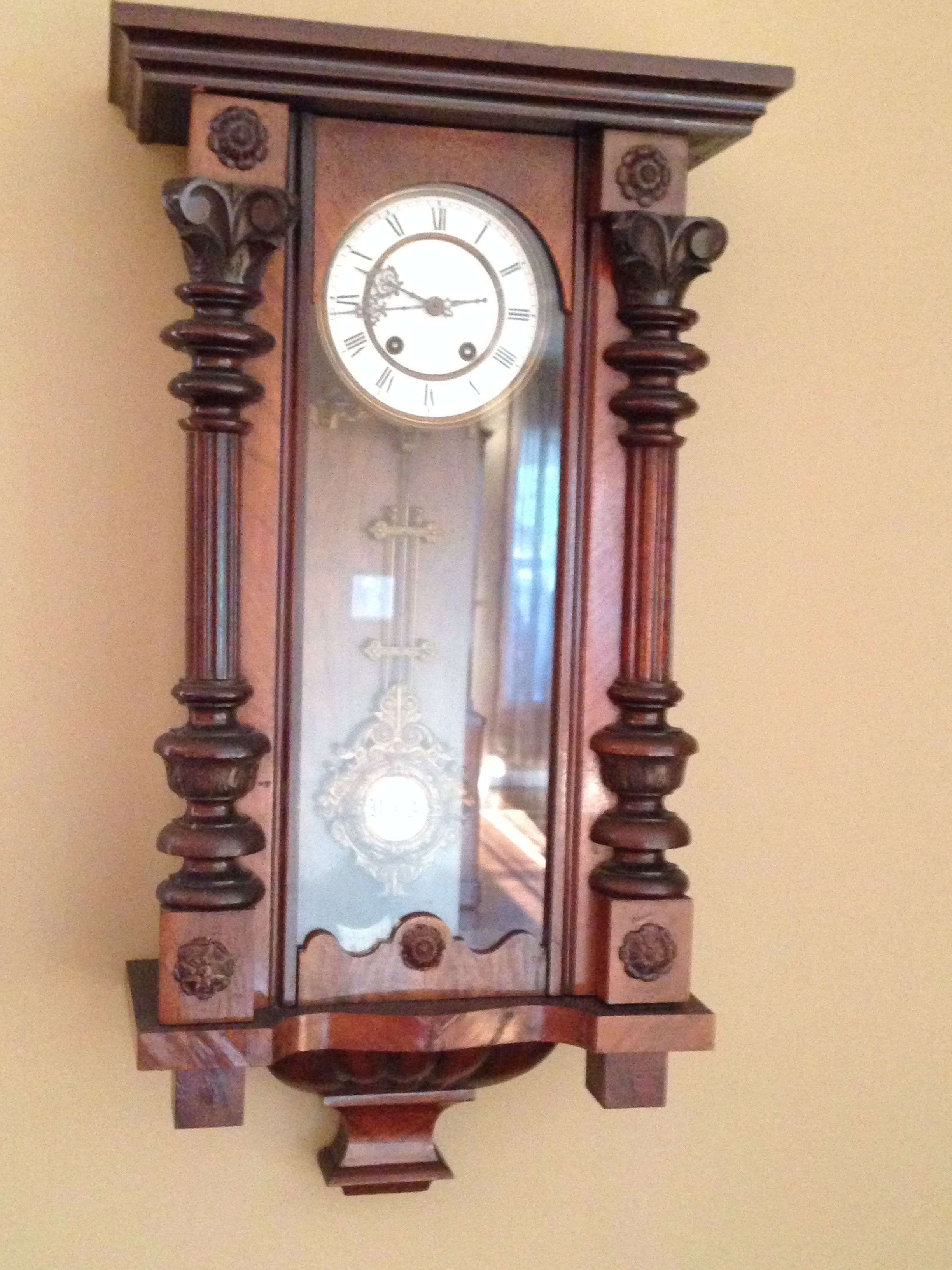 Antique Cuckoo Clock From Germany