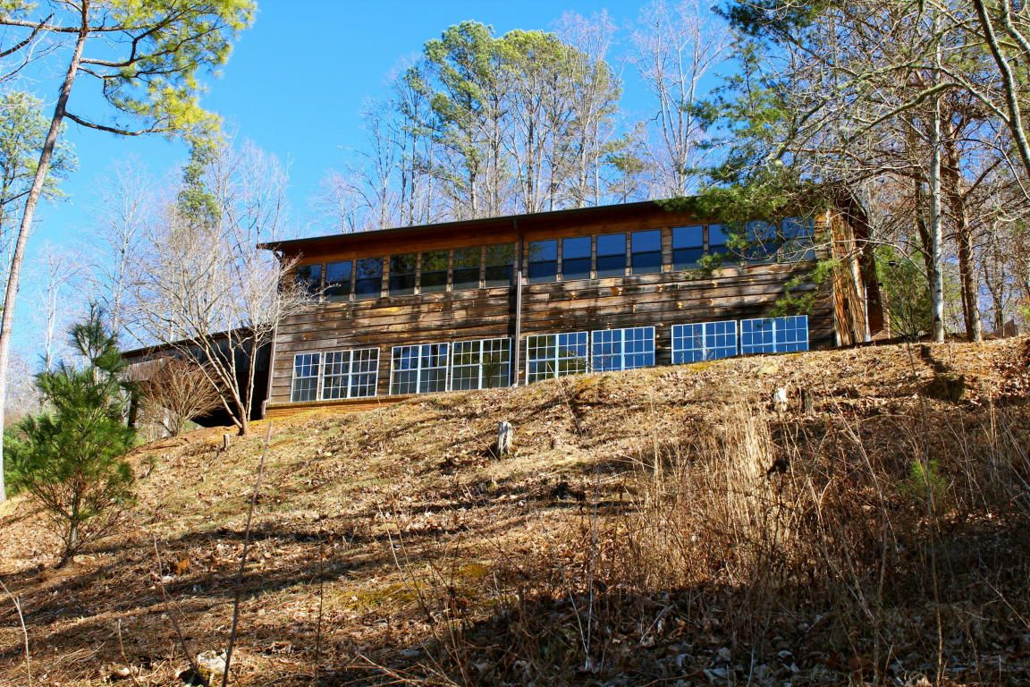 lakefront log cabin | lake homes for sale | pinterest | tennessee river