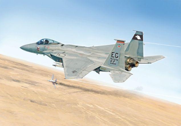 Italeri 1/48 F-15C Strike Eagle Gulf War Anniversary