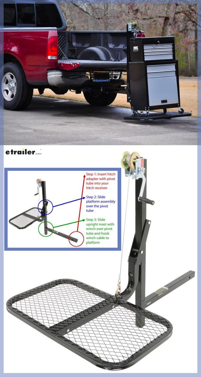 """Viking Solutions SwiveLift Loading System for 2"""" Hitches"""