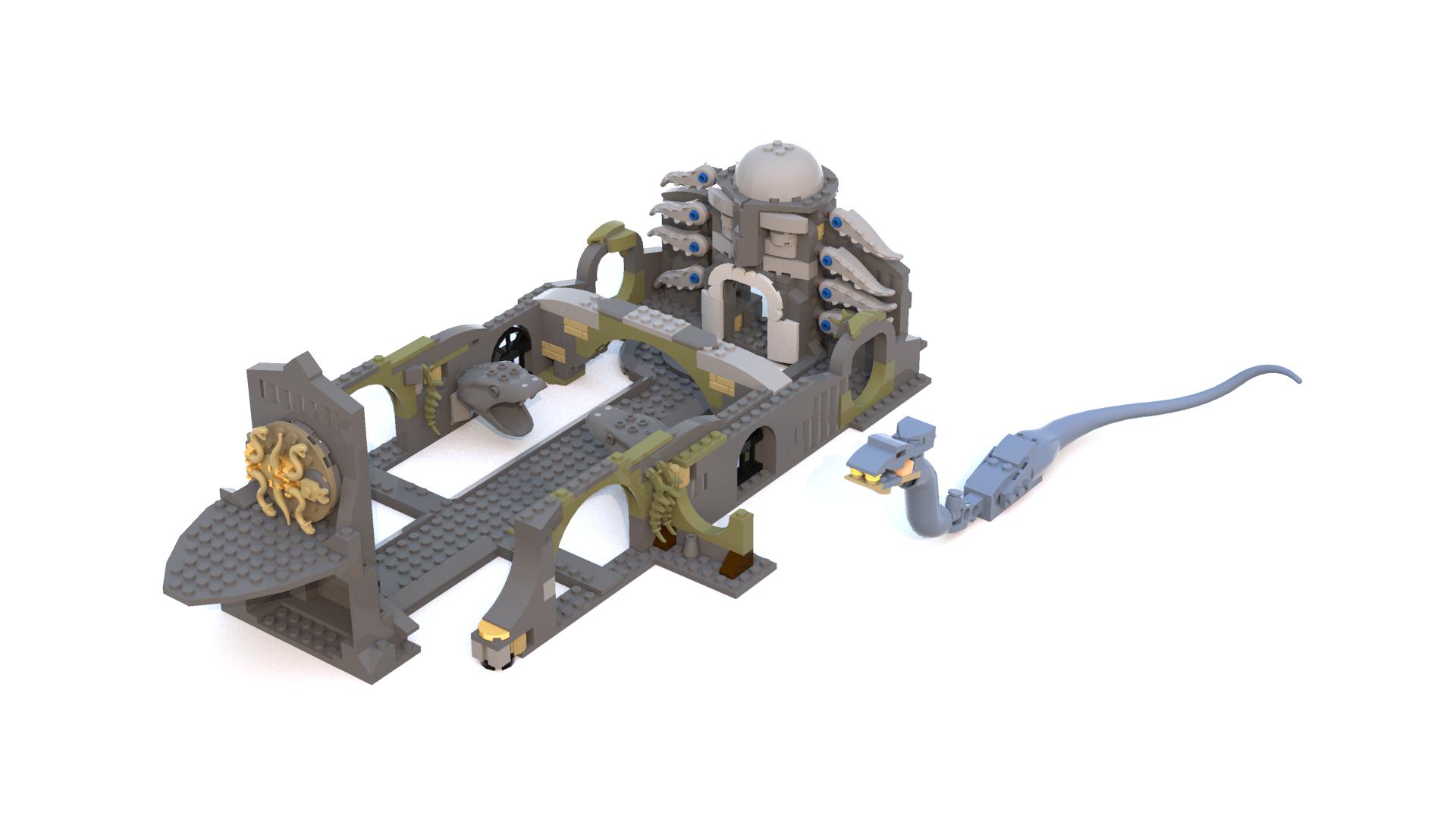 MOC LDD] Modern Chamber of Secrets - LEGO Licensed