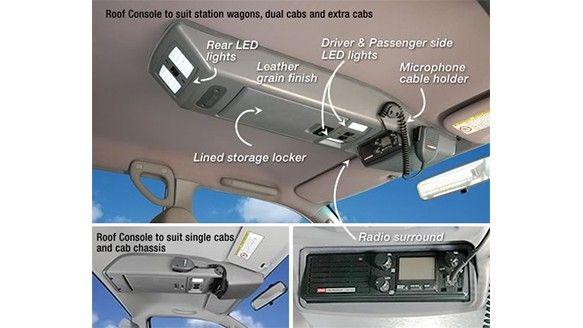 Nissan Patrol Gu Wagon Roof Console Nissan Patrol Ford Ranger Custom Car Interior