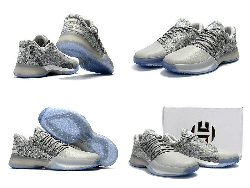 adidas Harden 1 Blanc Gris Basketball Chaussures New Fashion Chaussures