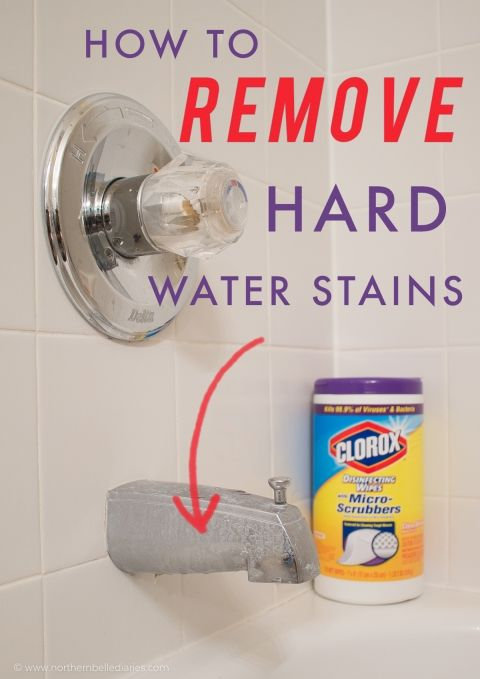 How To Remove Hard Water Stains Stain Remover