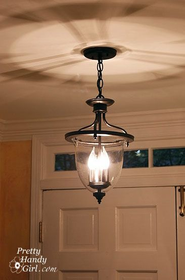 a new old foyer light diy projects pinterest foyer lighting rh pinterest com