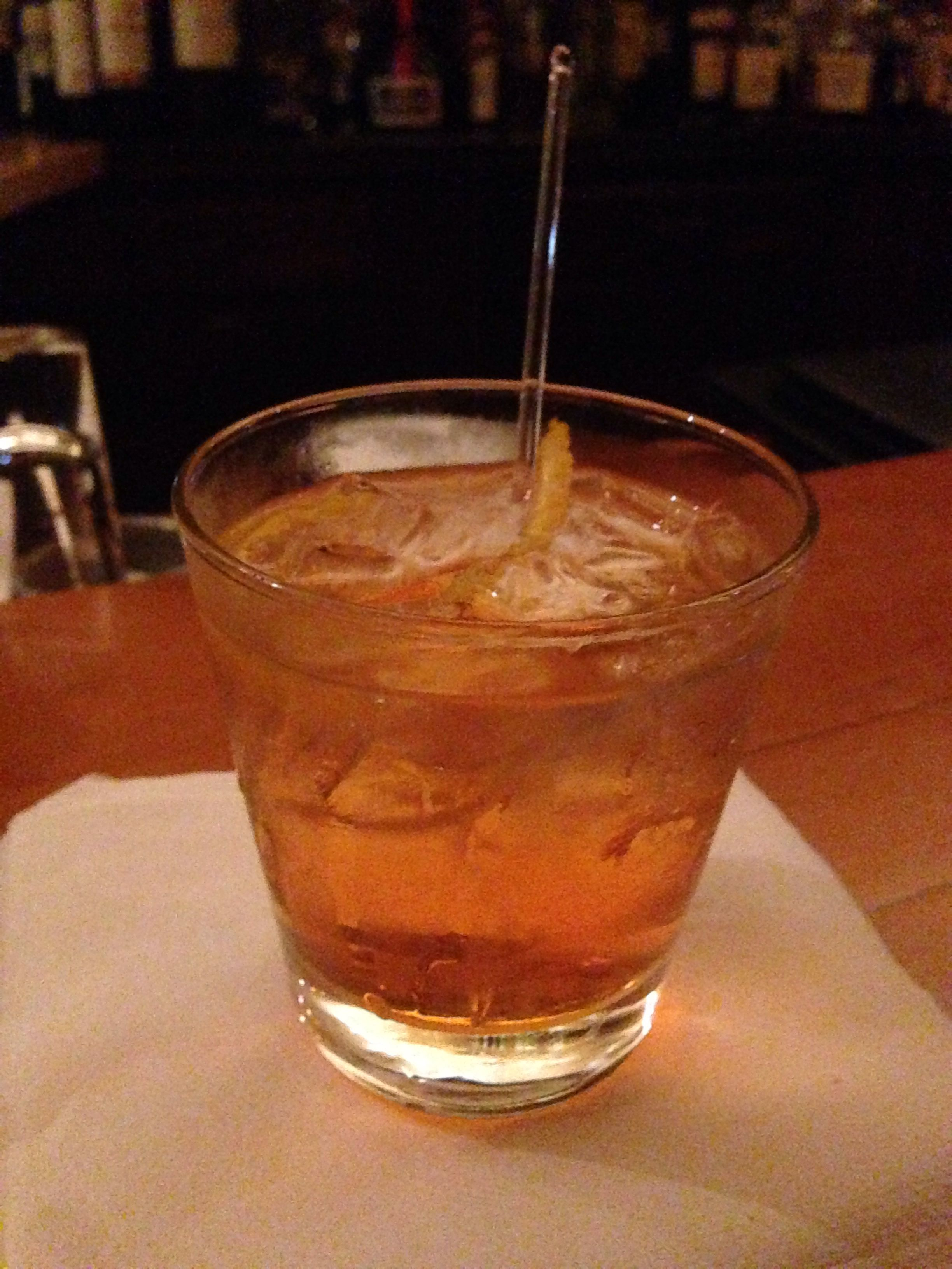the negroni at lonesome dove western bistro in fort worth tx rh pinterest com