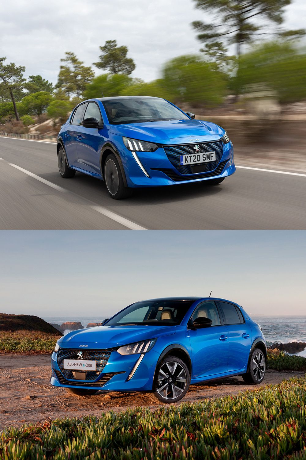 This all-electric version of a city car favourite offers a lively and environmentally-friendly drive. The Peugeot e-208's innovative digital cockpit, 217-mile range and Sports driving mode means that you can make the switch to electric driving without making any compromises. #Hatchback #ElectricCar #Peugeot