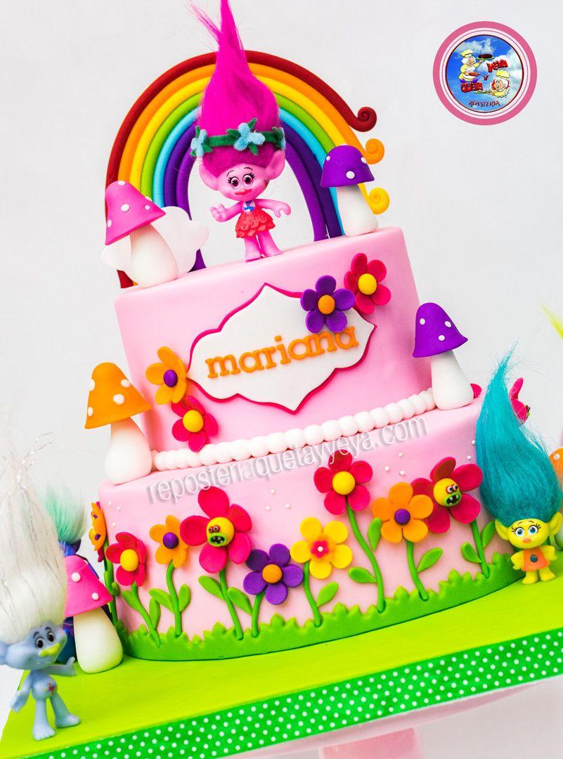trolls birthday cake walmart