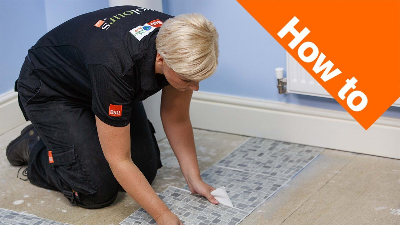 How to Lay Vinyl Tiles & Carpet Tiles Part 1: Preparation - YouTube How To Lay Carpet In A Bat on