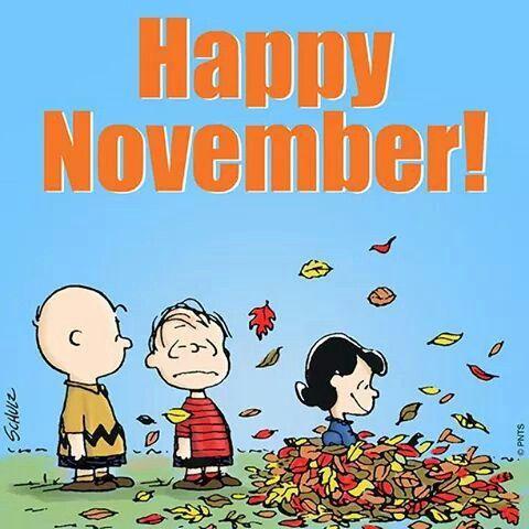 Noviembre ha llegado.