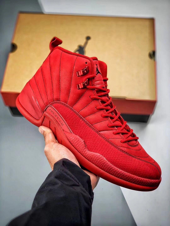 Nike Air Jordan 12 Black Friday Gym Red