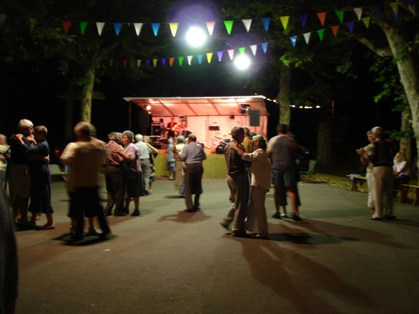 Pattern 63: DANCING IN THE STREETS___The essentials are straightforward: a platform for the musicians, perhaps with a cover; hard surface for dancing, all around the bandstand; places to sit and lean for people who want to watch and rest; provision for some drink and refreshment (...); the whole thing set somewhere where people congregate.
