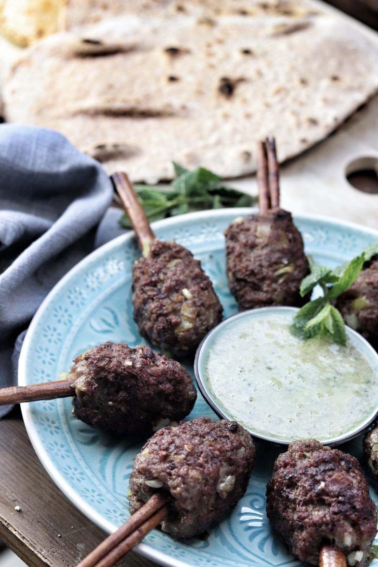 Lammkebab Auf Der Zimtstange Mein Wunderbares Chaos Rezept In 2020 Kebab Lebensmittel Essen Rezepte
