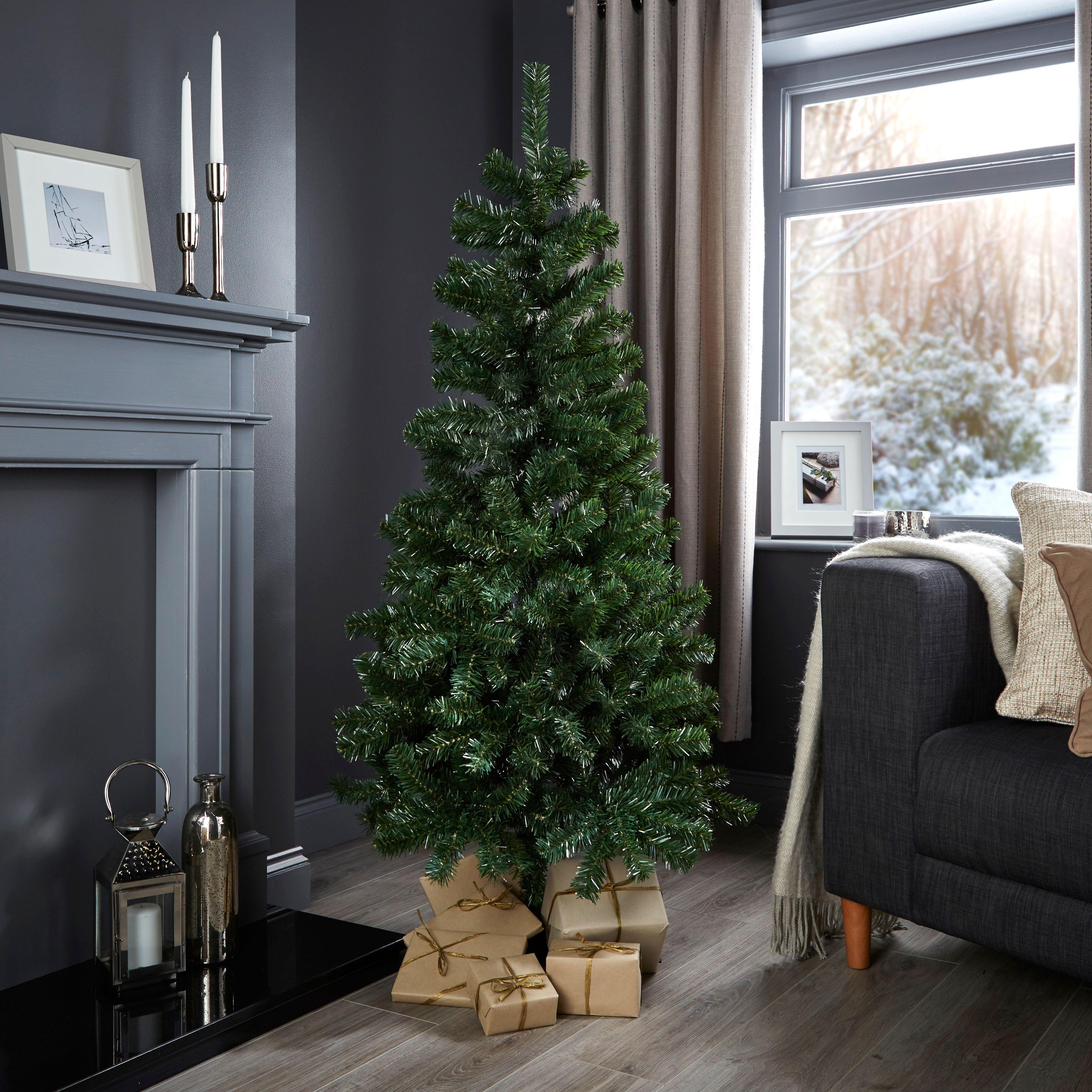 5ft Woodland Classic Christmas Tree   Departments   DIY at B&Q ...