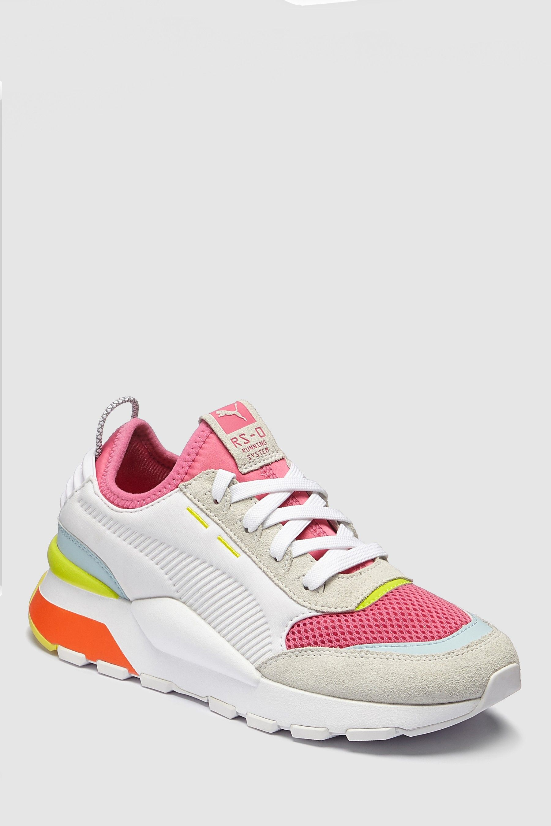 Womens Puma White RS 0 Winter Toys Trainers - White ...