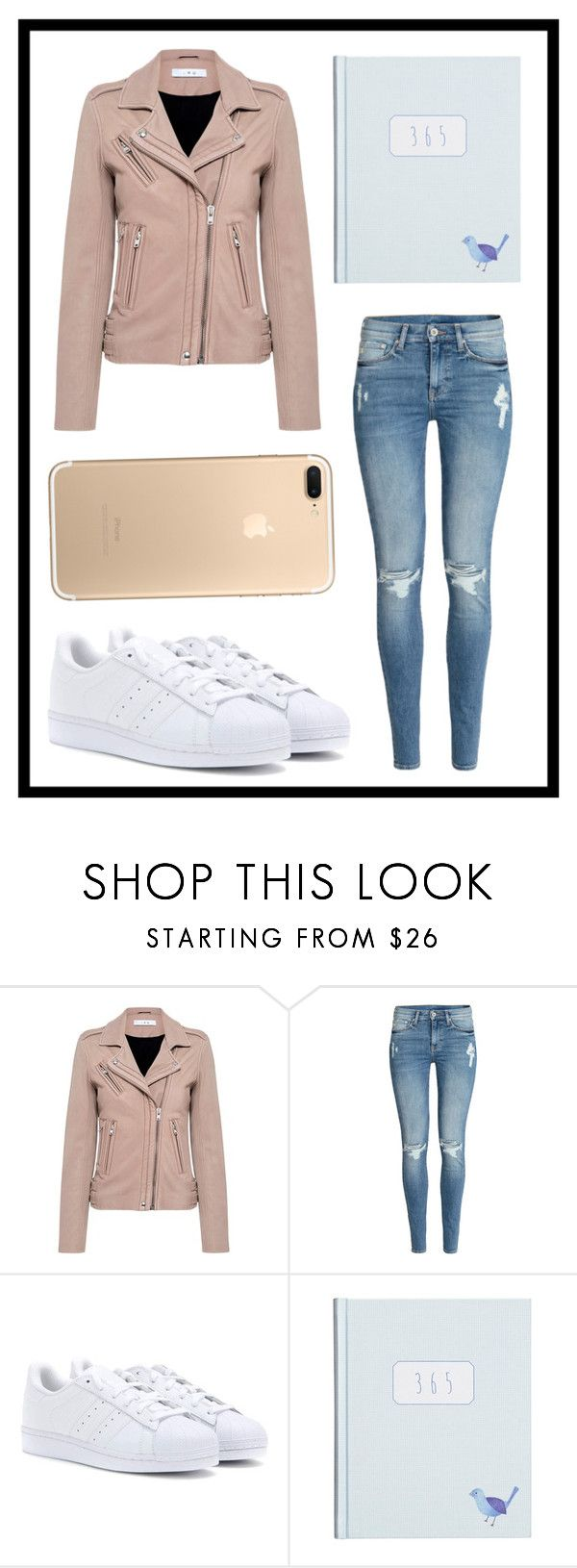 """""""#644"""" by xjet1998x ❤ liked on Polyvore featuring IRO, H&M and adidas"""