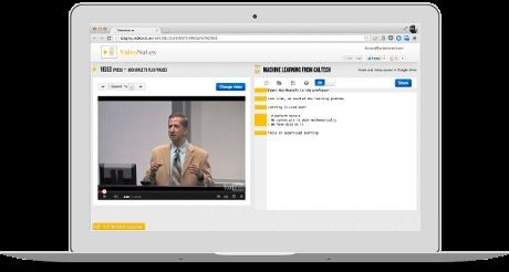 VideoNot.es: The easiest way to take notes synchronized with videos!