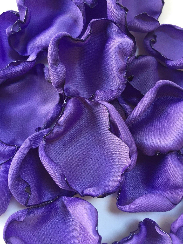 Periwinkle Rose Petals Purple Flower Petals Table Decoration Baby