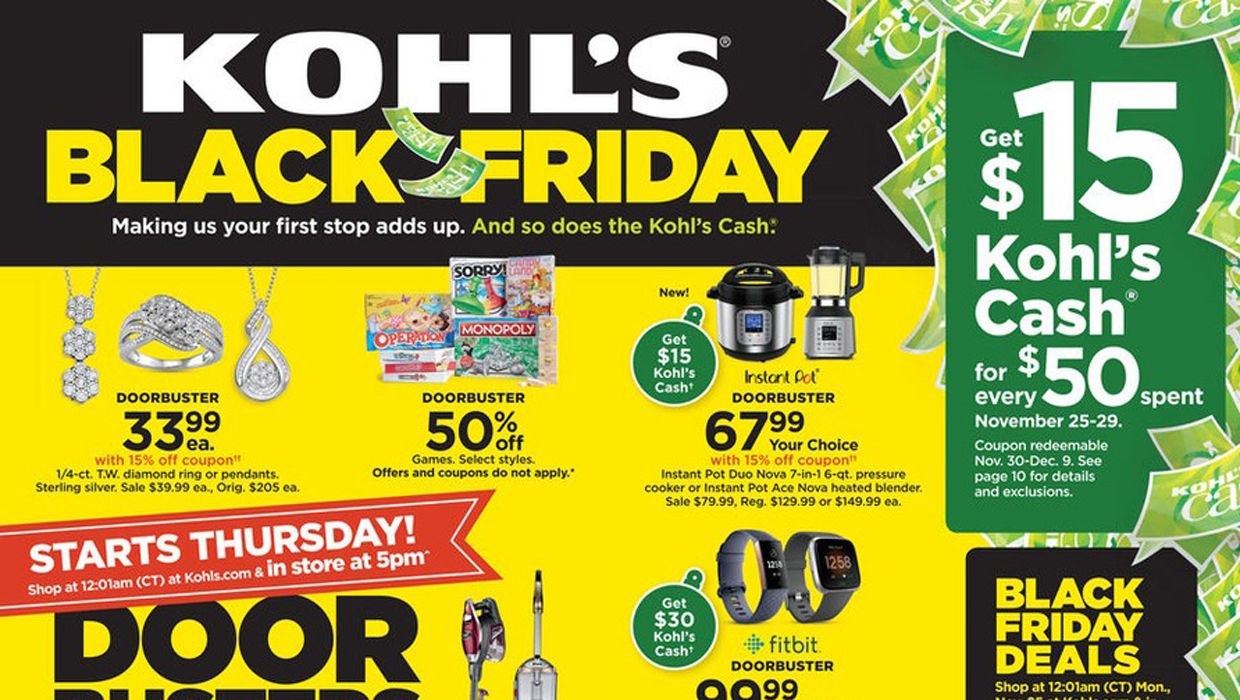 Kohls Coupons Printable 2020 Save With Kohls 10 Off 20 Off 30 Off In Store Coupons Today In 2020 Kohls Black Friday Kohls Coupons Kohls