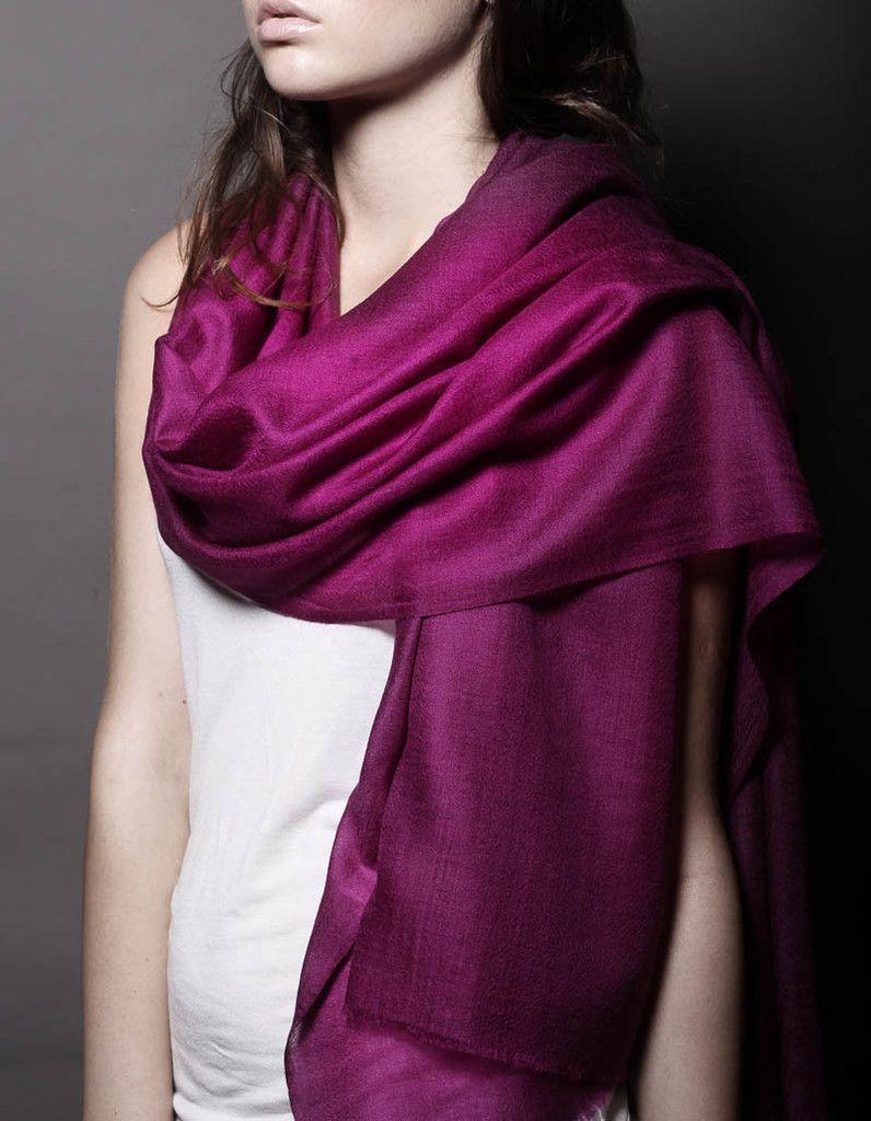 Ezma Souffle Stark Amethyst Purple