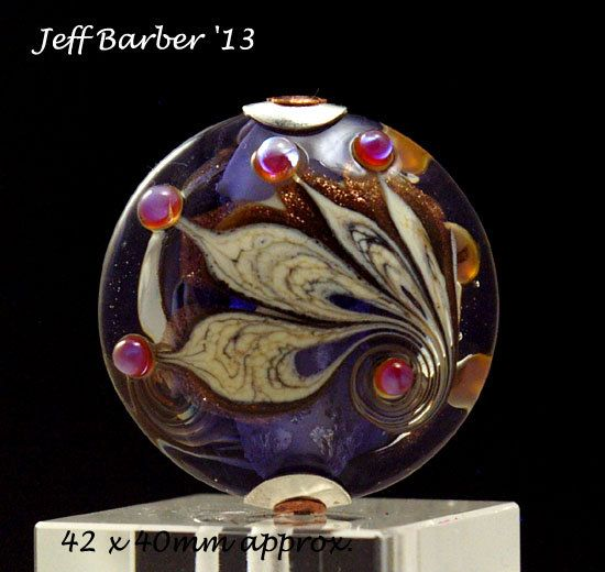 JEFF BARBER - Glass Art Focal Bead by jeffbarber on Etsy, $69.00 ** love **