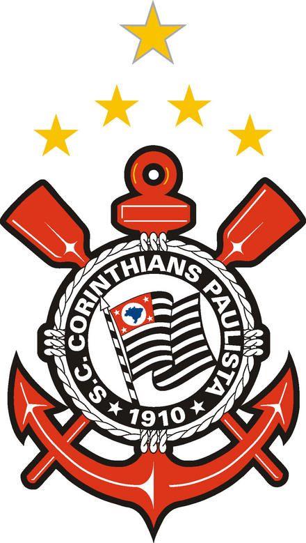 Aqui Tem Um Bando De Loucos Simbolo Do Corinthians Escudo