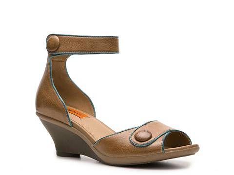 50589f9f241040 Miz Mooz Clementine Wedge Sandal Sandals Women s Shoes - DSW