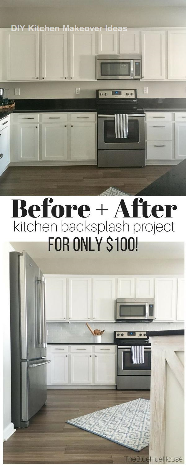 - 16 Awesome Ideas For Kitchen Makeovers: 1. DIY Countertop Makeover