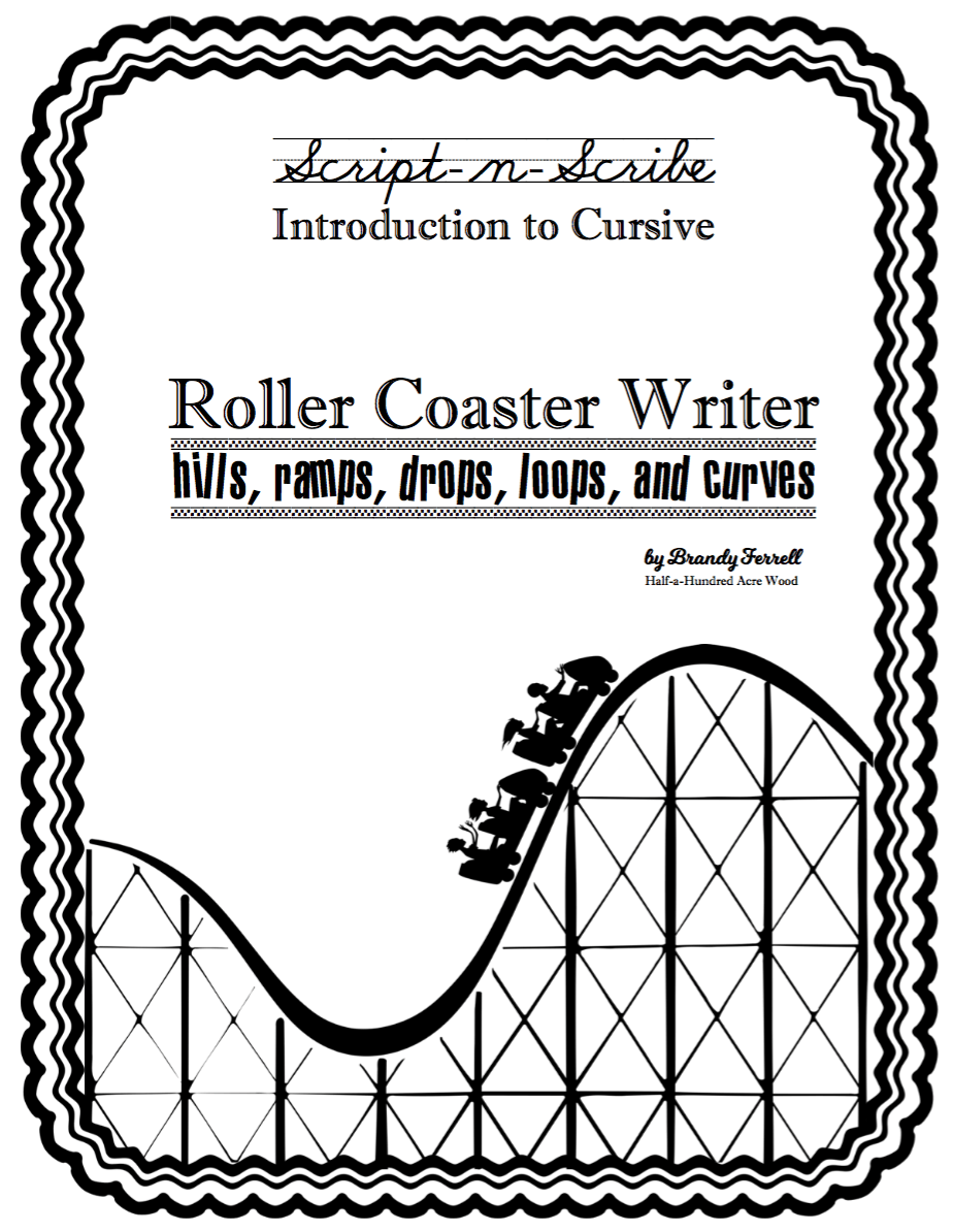 Introduction to Cursive Program: The Roller Coaster Writer