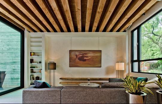 Techos modernos ceilings pinterest ceilings for Techos modernos