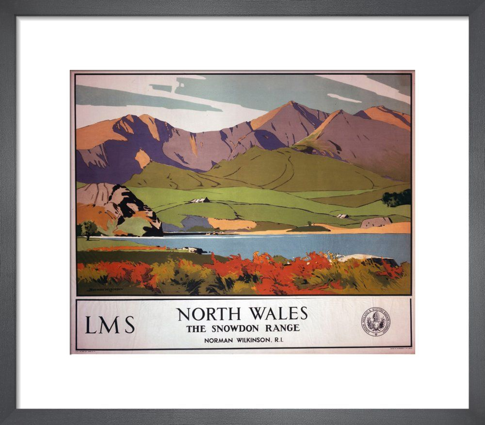 North Wales - Snowdon Range by National Railway Museum - art print from King & McGaw