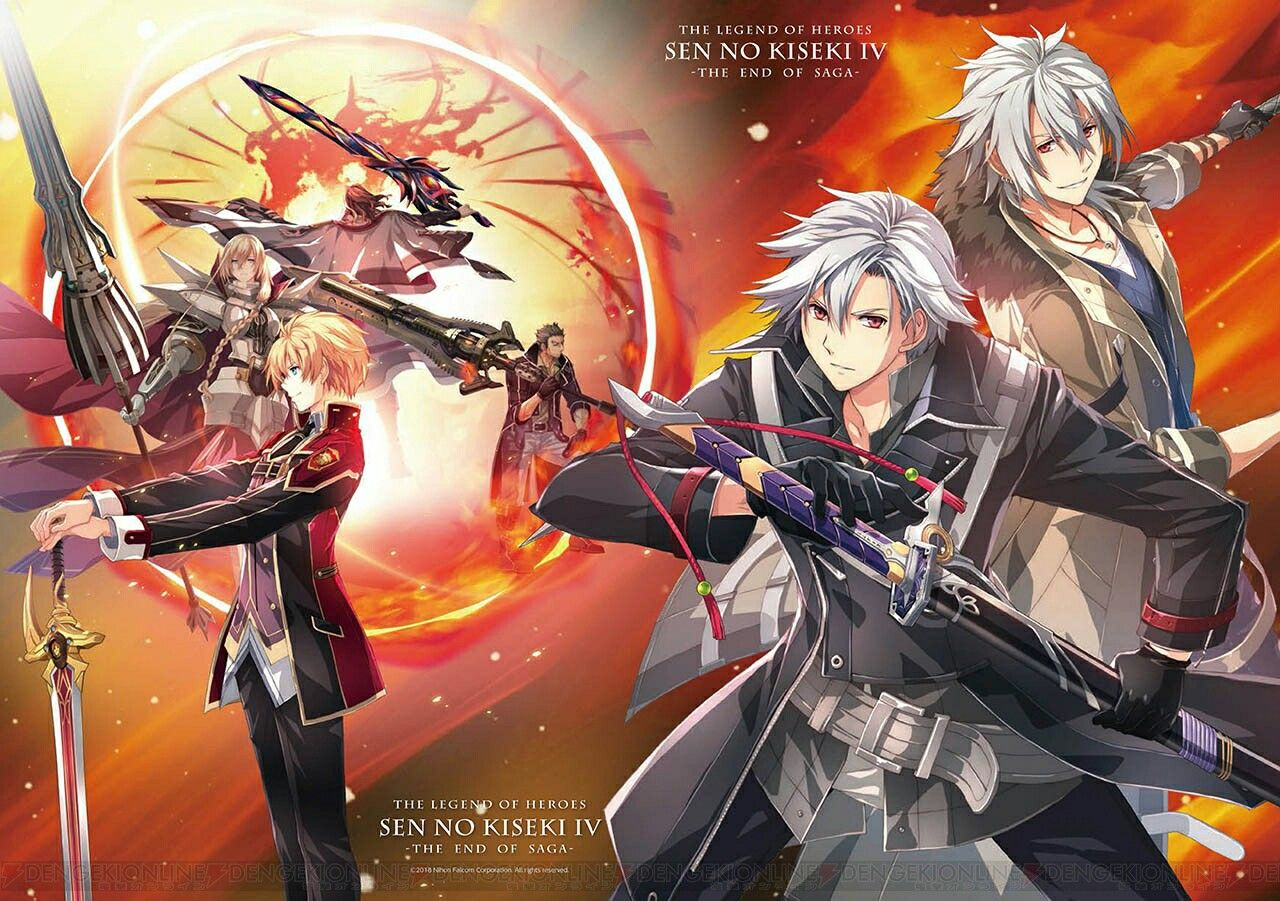 The Legend Of Heroes Trails Of Cold Steel 4 Trails Of Cold Steel The Legend Of Heroes Anime Art Fantasy