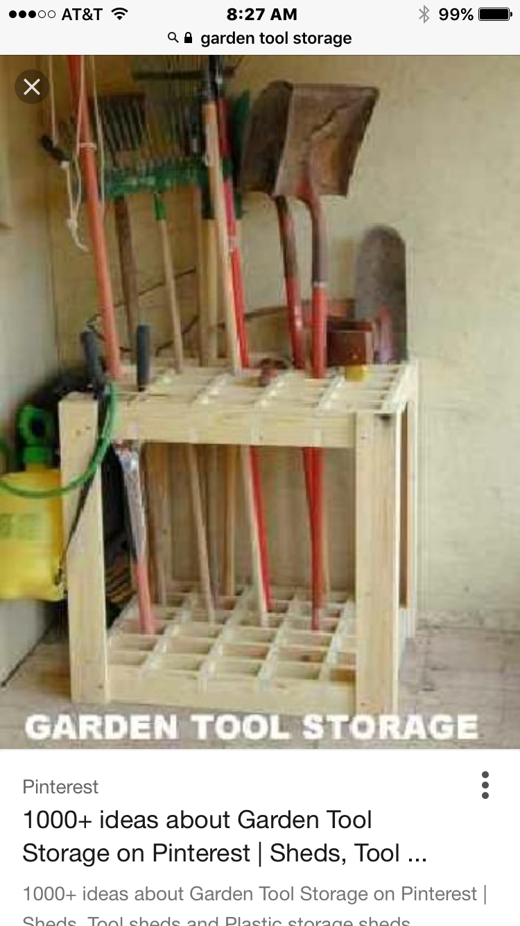 Garden Tool Storage Image By Vicki Greenberg On Garage