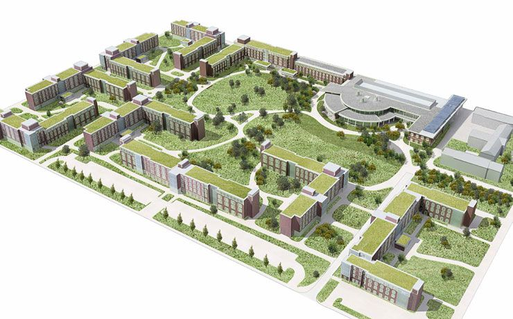 University of Illinois Ikenberry Commons, Bousfield