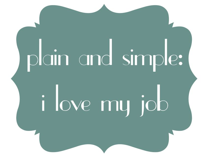 I Love My Job Quotes Quote: I love my job » Niña.Cecilia creative spark | Inspiration  I Love My Job Quotes