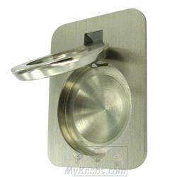 hafele cabinet hardware recessed pull in brushed nickel haf59723