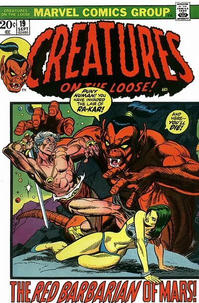 Creatures on the Loose # 19 by Gil Kane