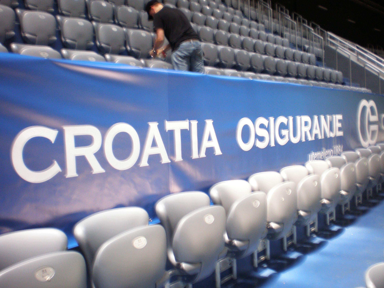 Reklama Cerada Banner Za Sportske Događaje Banner