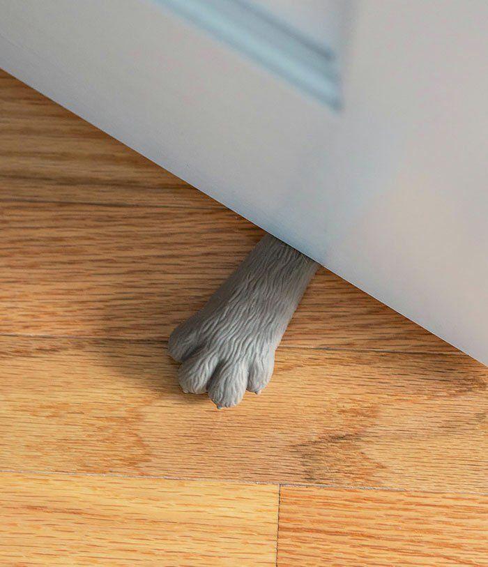 Türstopper Katze Stopper Tür Feststeller Türpuffer