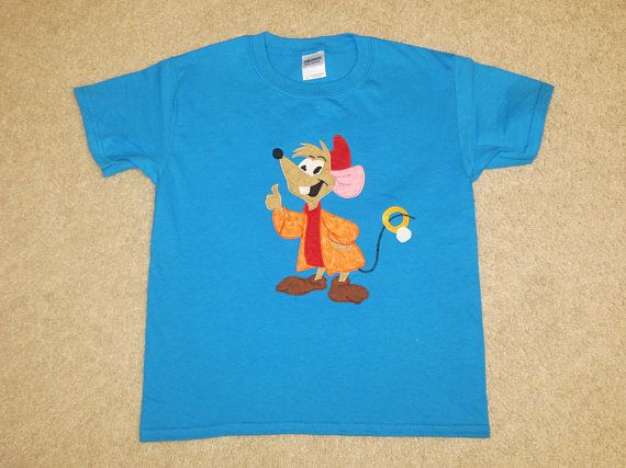 dd6b290b3b440 JaQ MouSe from CiNDeReLLa Custom Boutique Hand Applique T SHIRT Tee ...