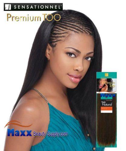 Sensational Premium Too Yaki 100 Human Hair Weave Cool Braid Hairstyles Weave Hairstyles Hair Styles