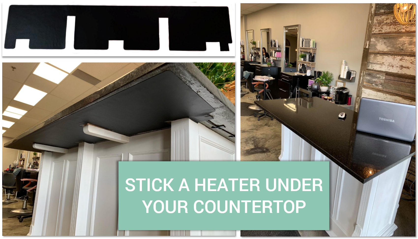 Make An Impression With Heated Countertops Diy