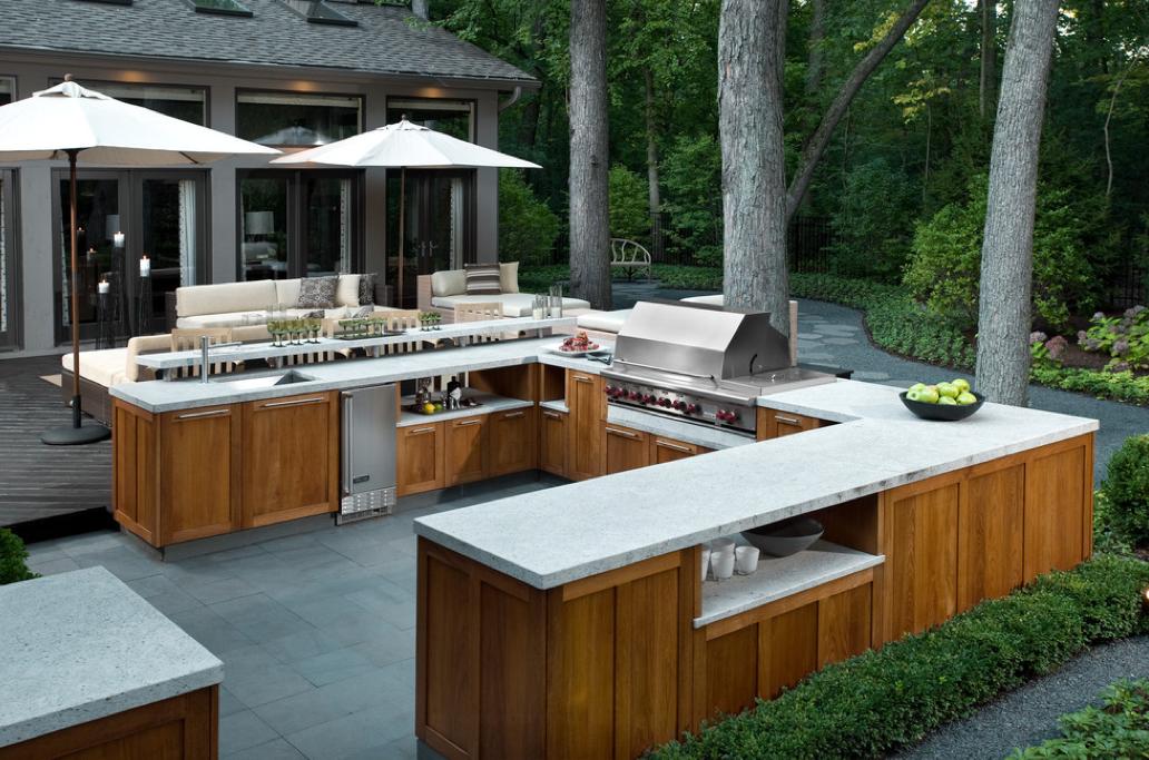 Cuisine ext rieure des id es pour r nover votre terrasse outdoor garden - Idee cuisine exterieure ...